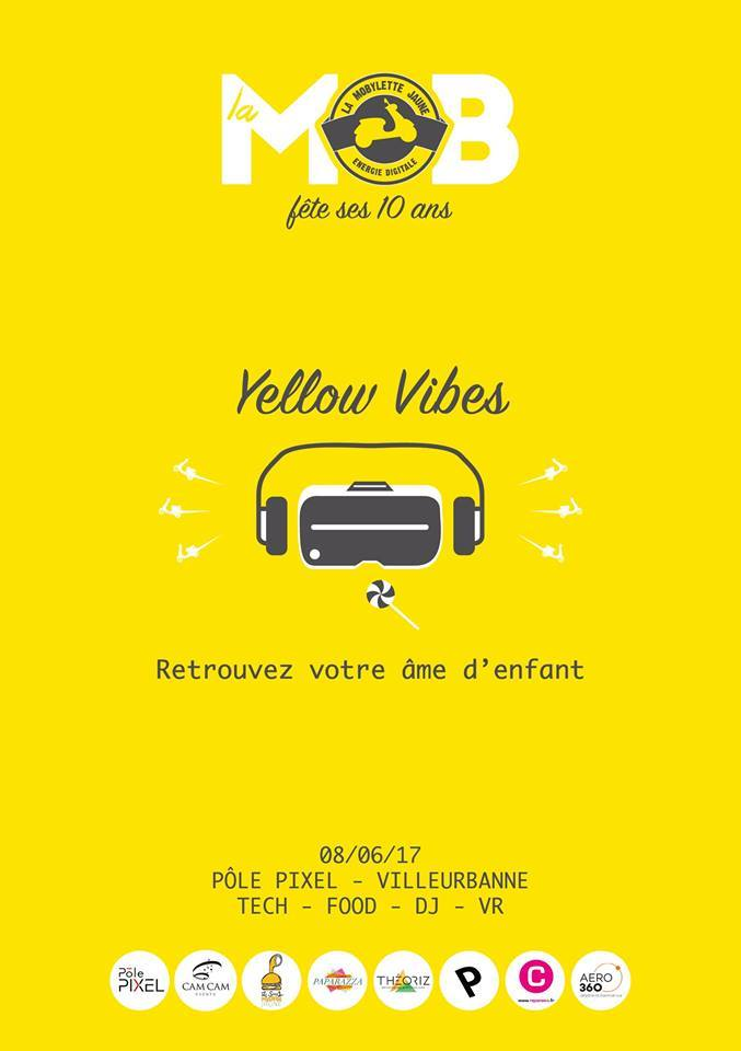 Affiche Yellow Vibes