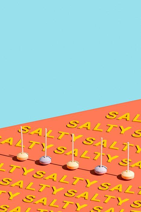 typographies et sucettes