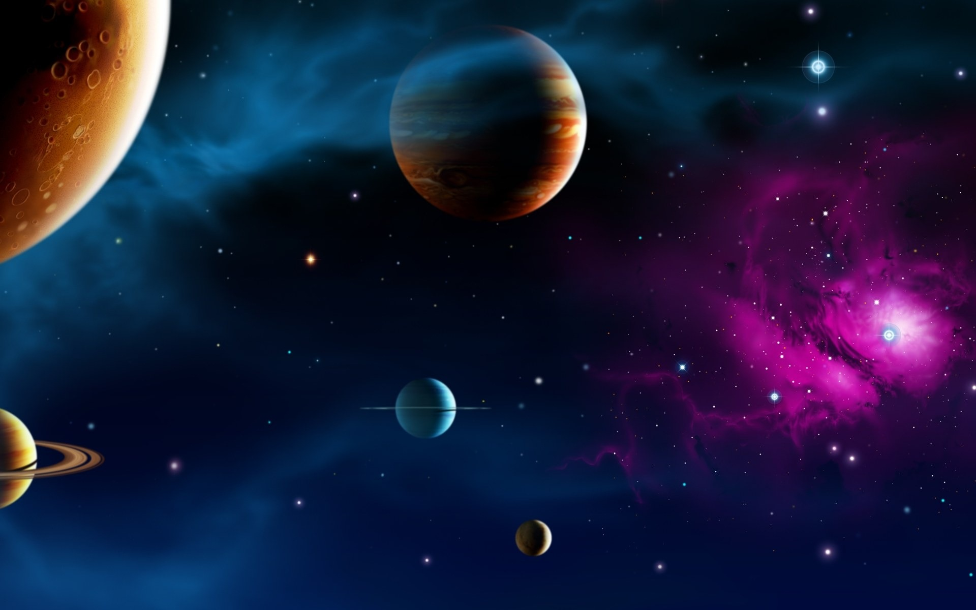 3D planètes
