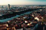 image drône de Lyon