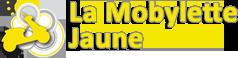 ancien logo 2010-2013 de la mobylette jaune