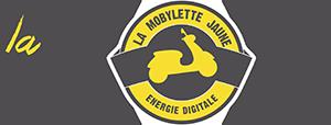 ancien logo 2017 de la mobylette jaune