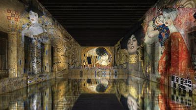 Exposition immersive aux bassins de Lumières