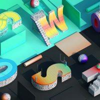 Photo 3D illustrant les projets des agences digitales à Lyon