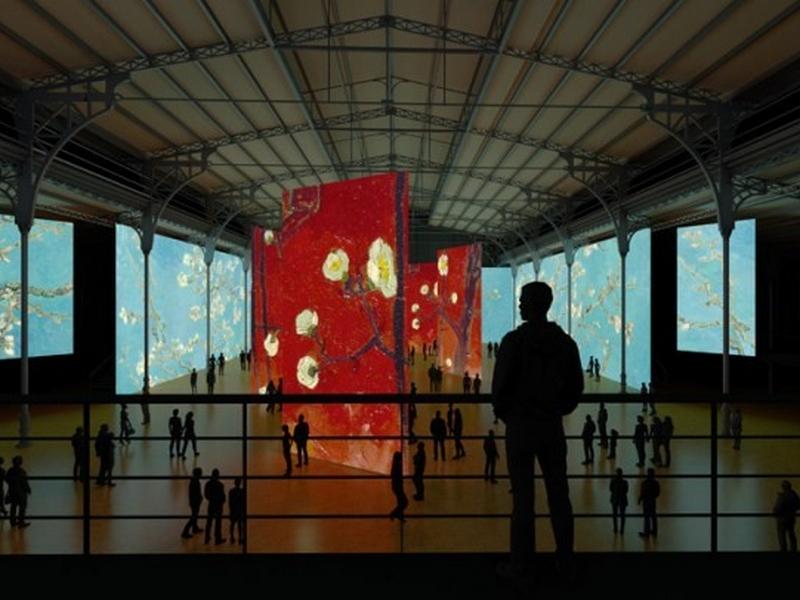 expériences immersives artistique Van Gogh