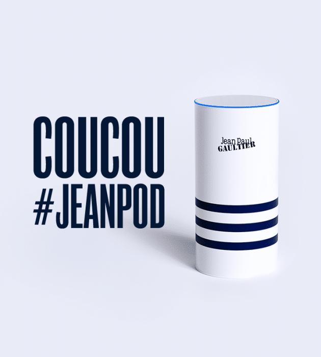 parfum Jean Paul Gauthier pour la web série JeanPod