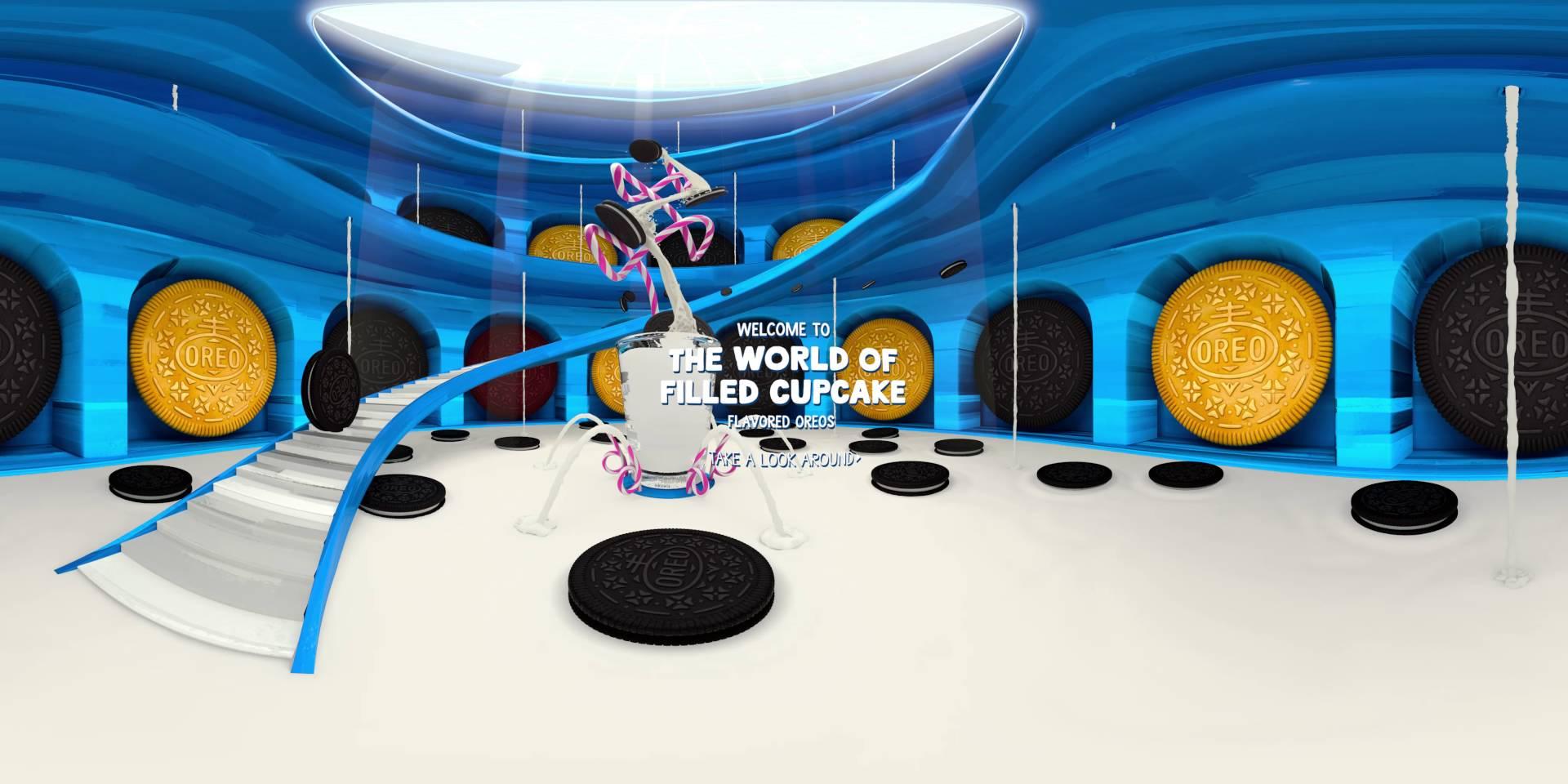 Oreo vidéos 360°