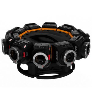 montures mini eye caméras vidéos 360 blackmagic