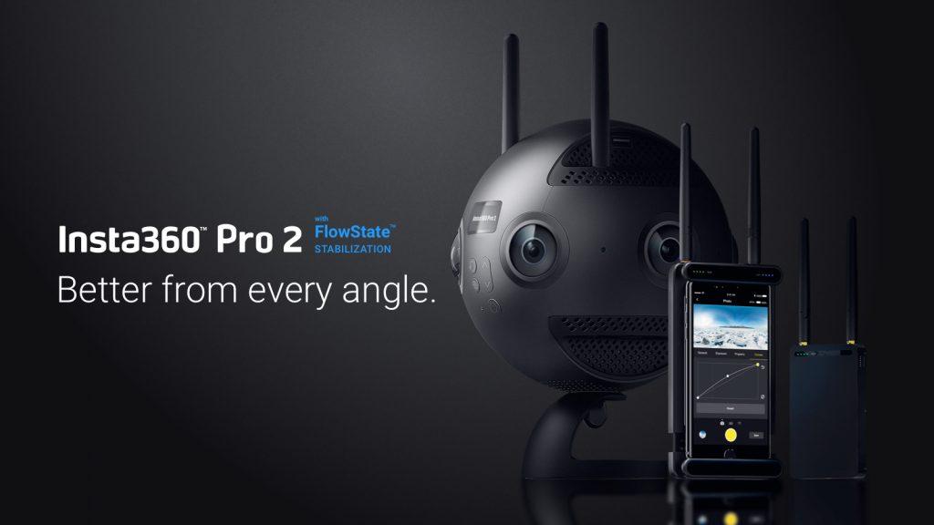 caméras vidéos 360