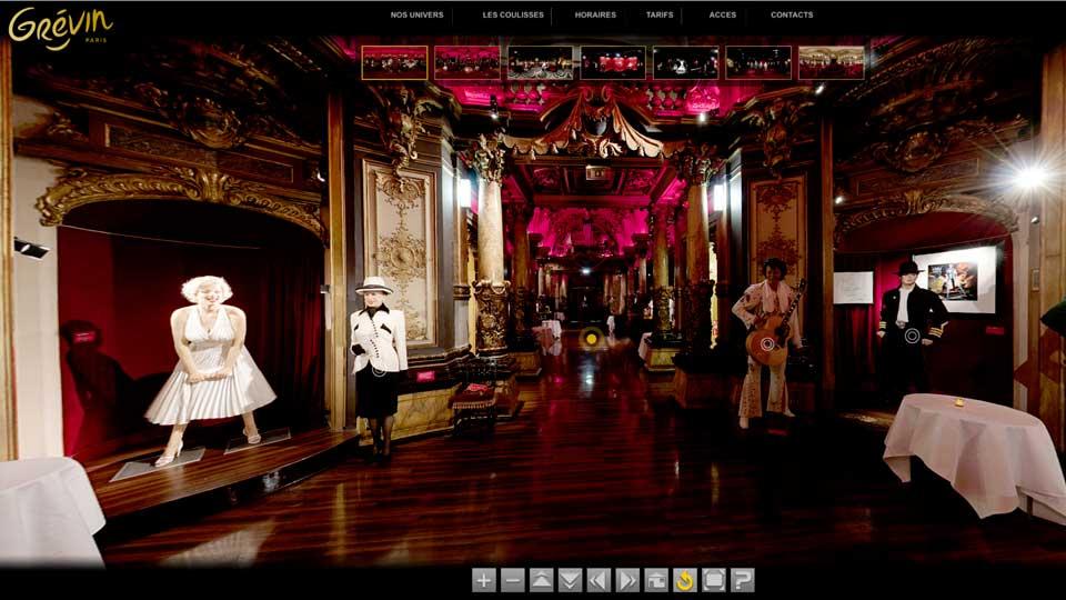 Visites virtuelles 360° d'un Musée