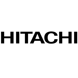 Logo Hitachi, client de la Mobylette Jaune