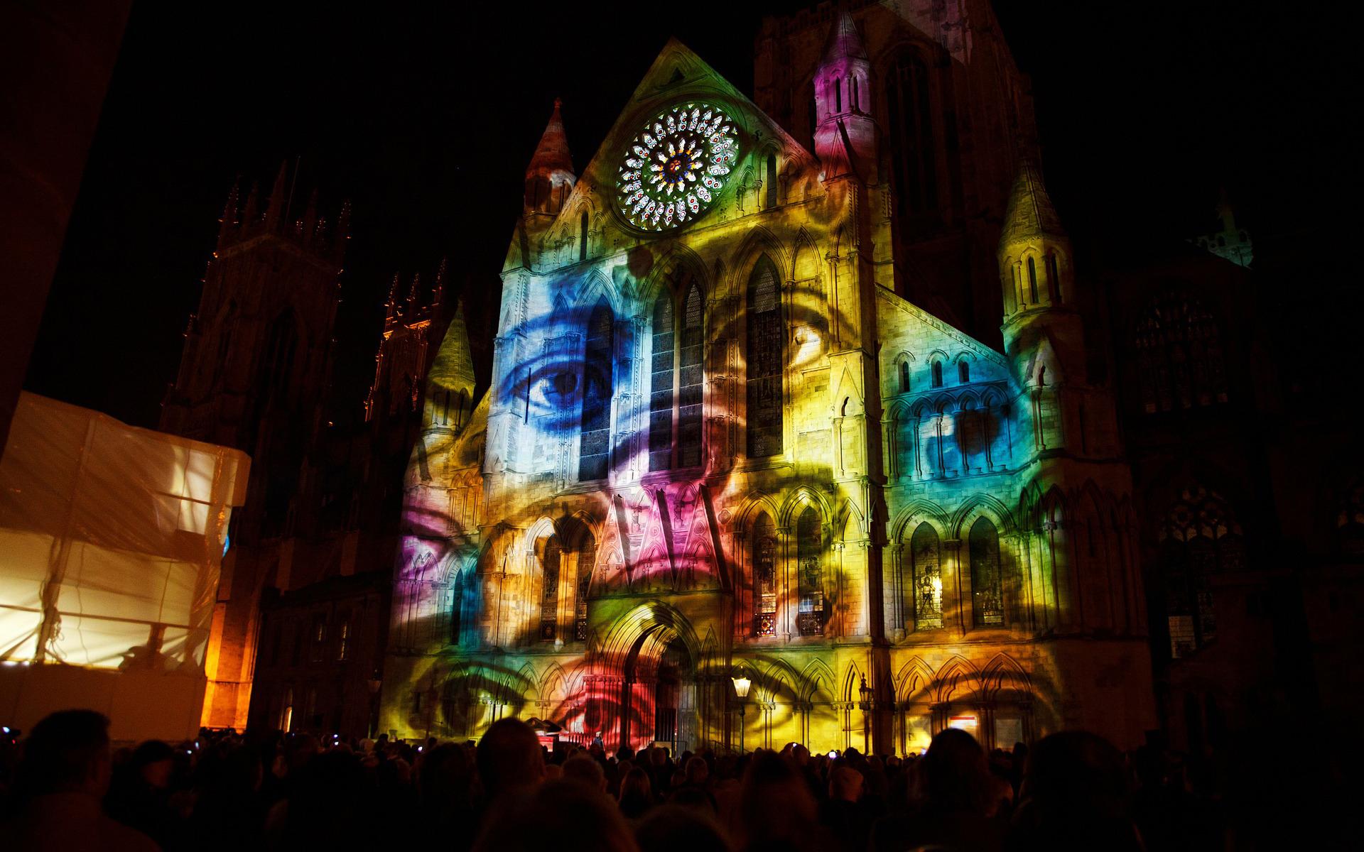 mapping fête des lumières lyon