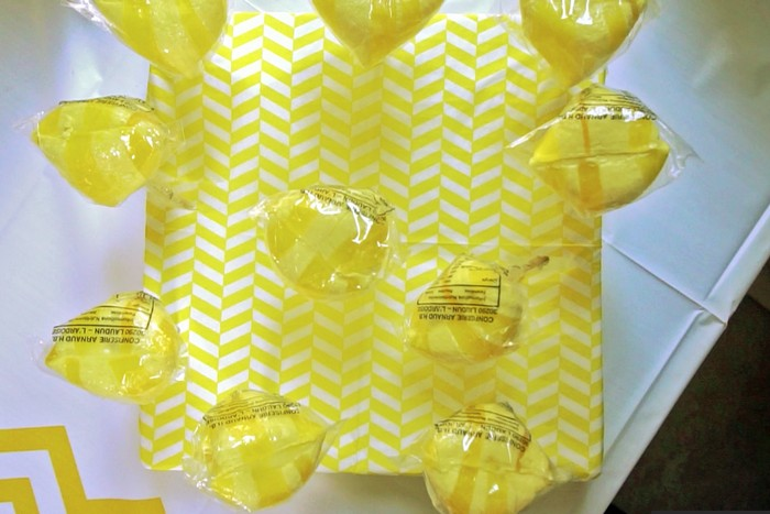 yellow vibes bonbons
