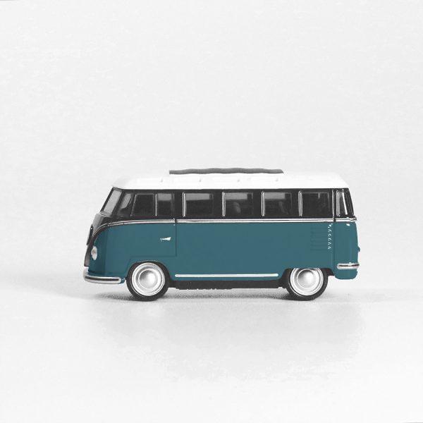 van bleu jouet