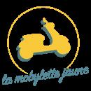 Logo de la mobylette jaune, l'agence de communication à lyon