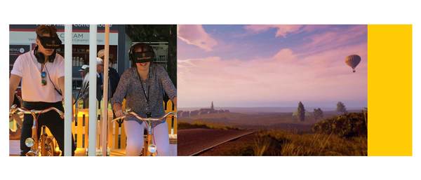 Expérience en réalité virtuelle de Veuve Cliquot