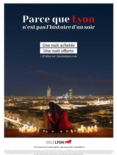 Affiche Only Lyon campagne 2 nuits à Lyon